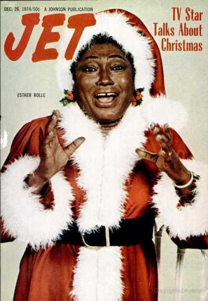 black female santa