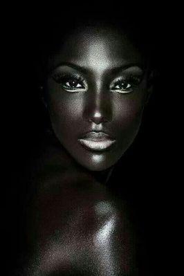 blackwomanblackbackground